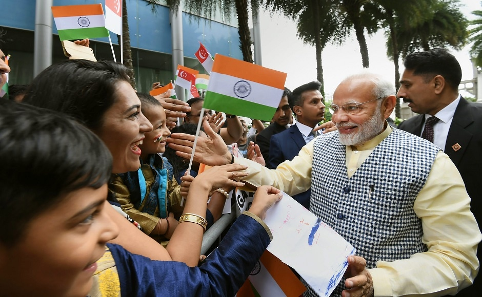 Modi hailed the 'warmest and closest' relationship between India and Singapore, saying the future is a world of unlimited opportunities and the two lions (countries) shall step into it together. PTI