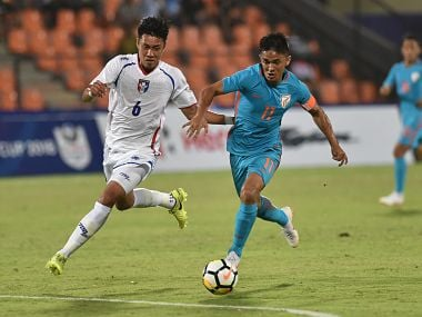 Intercontinental Cup: Captain Sunil Chhetris hat-trick of goals guide India to 5-0 win over Chinese Taipei