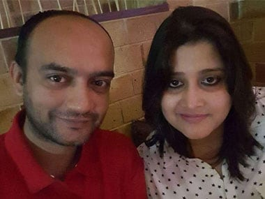 File image of Anas Siddiui with his wife Tanvi Seth. Facebook/infocrowntravels.in