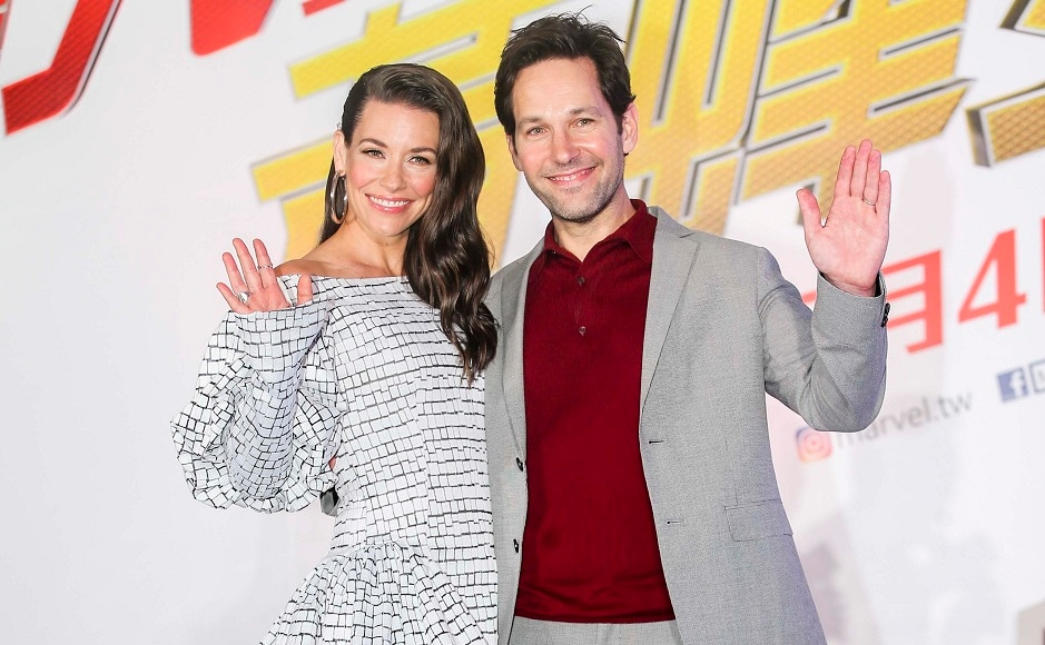 Paul Rudd and Evangeline Lilly in Taiwan