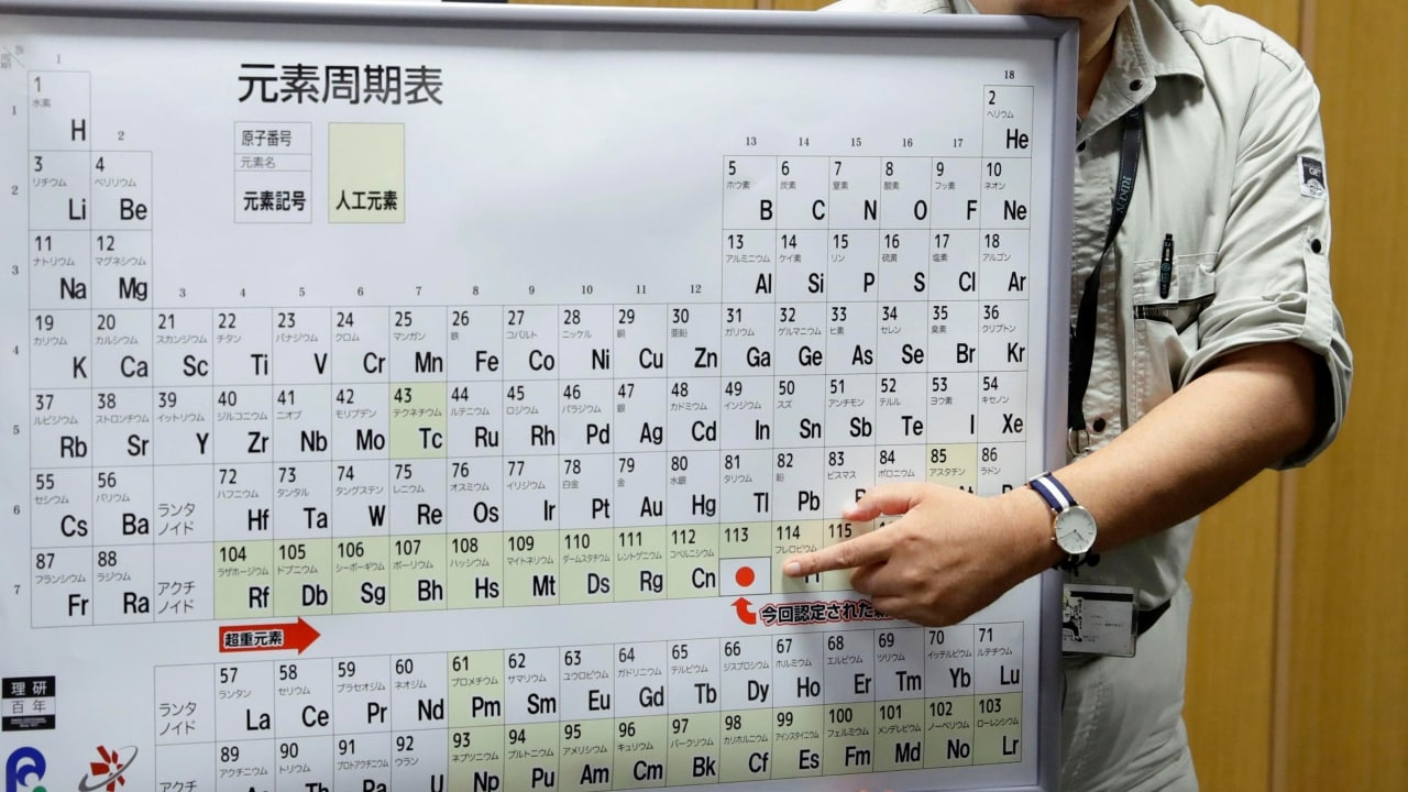 Artificial Intelligence programme recreates entire periodic table of elements