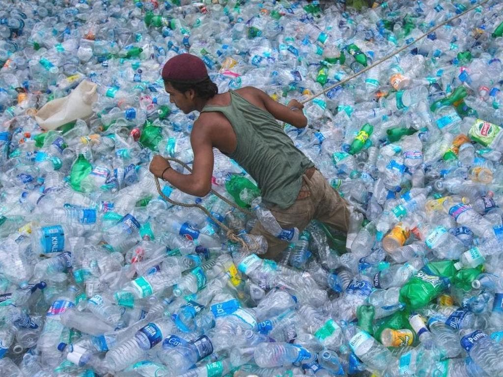 The ban on single-use plastic products was first announced in March. Reuters