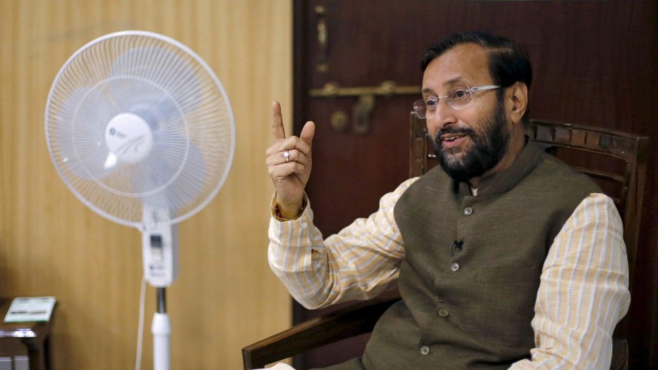 File image of Prakash Javadekar. Reuters