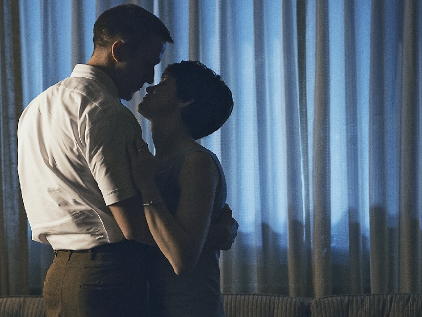 Ryan Gosling and Claire Foy in a still from the film. Universal Pictures