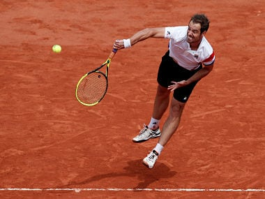 Tennis - French Open - Roland Garros, Paris, France - May 31, 2018 France's Richard Gasquet in action during his second round match against Tunisia's Malek Jaziri REUTERS/Benoit Tessier - RC1B9D304570