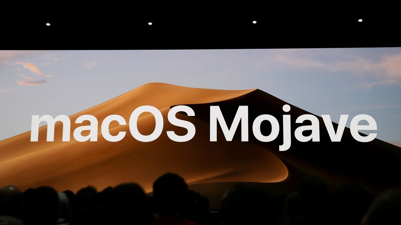 Apple introduces the upcoming MacOS Mojave at the Apple Worldwide Developer Conference (WWDC). Reuters