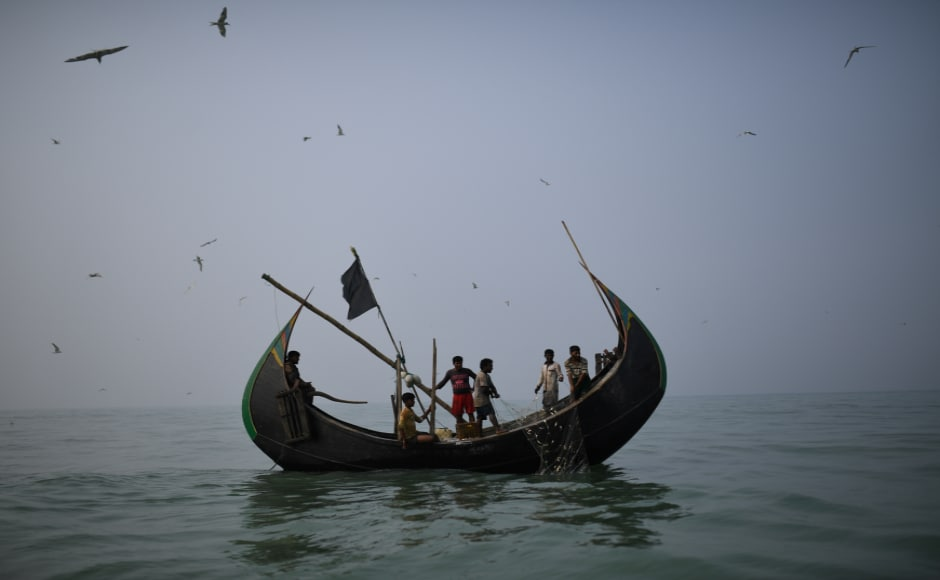 The 7,00,000 Rohingya refugees who fled from Myanmar are finding new livelihoods in Bangladesh's fishing industry, all under the official radar. Reuters/Clodagh Kilcoyne
