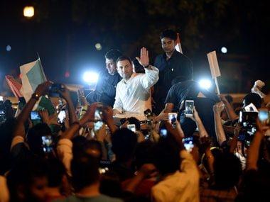 Rahul Gandhi attacks Narendra Modi and Arvind Kejriwal in tweet, says while Delhi CM sits on dharna, PM turns blind eye