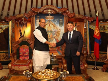 Rajnath Singh lauds Mongolia's '3rd neighbour' policy in Ulaanbaatar, reaffirms commitment to strengthen cultural bonds