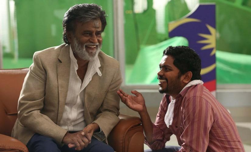 Rajinikanth with director Pa. Ranjith/Image from Twitter.