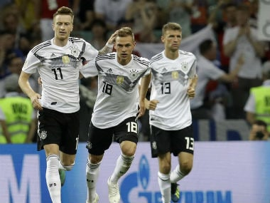Germany vs Sweden LIVE football score, FIFA World Cup 2018, Match 29 in Sochi: Marco Reus pulls one back for Germans