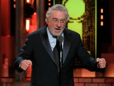 Tony Awards 2018: Robert De Niro gets standing ovation for expletive-laced anti-Trump speech