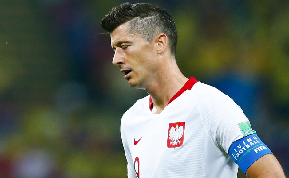 Poland have been eliminated after losing both of their opening fixtures and scoring only one goal. The Polish side were beaten 2-1 by Senegal in their opening match. AFP