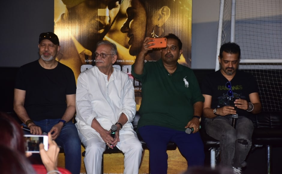 Music composers for Soorma, Shankar Ehsaan Loy at the trailer launch of the film.