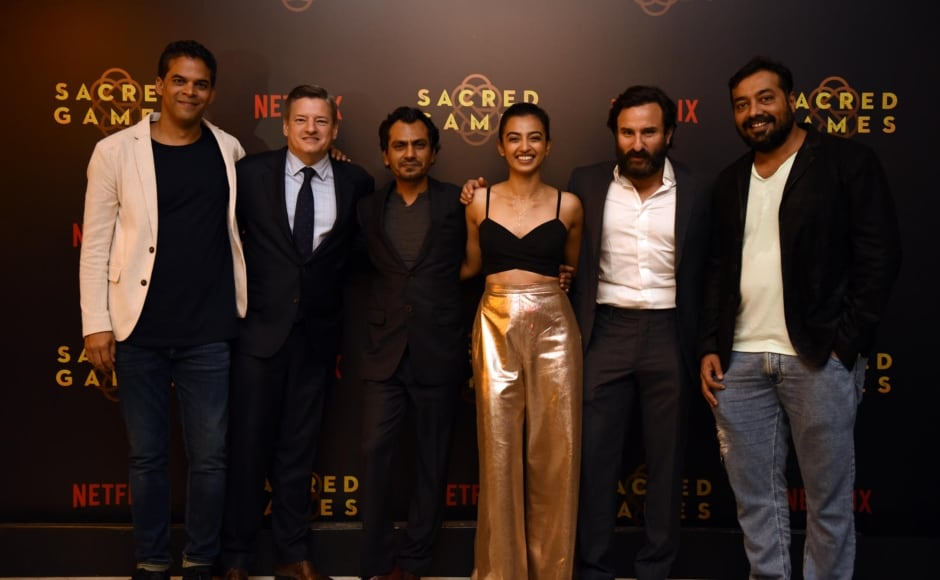 India's first Netflix original series <em>Sacred Games</em> premiered in Mumbai on 28 June, 2018.