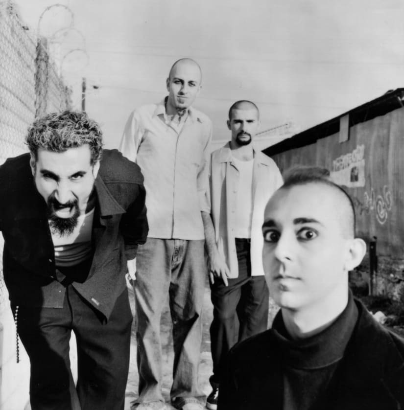 System of a Down/Image from Twitter.