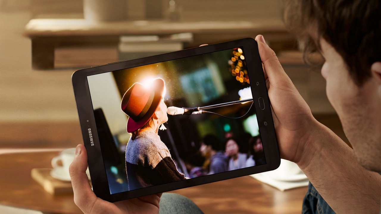 The Samsung Galaxy Tab S3 was launched last year. Image: Samsung