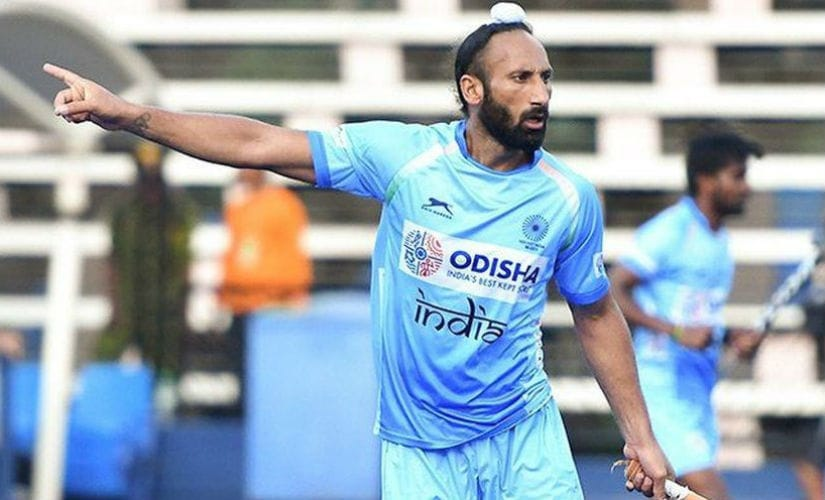 It is also fate that his 300th came against the Olympic champions Argentina and the 2-1 win was the icing on the cake. Image courtesy: Twitter @TheHockeyIndia