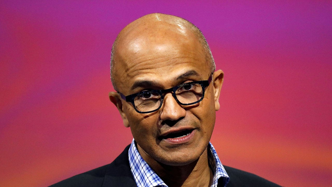Microsoft doesnt use customers personal data for profit: Satya Nadella