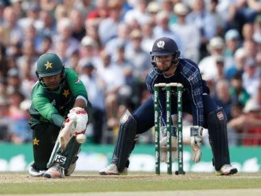 Sarfraz Ahmed top-scored for Pakistan with a blistering 89. Reuters