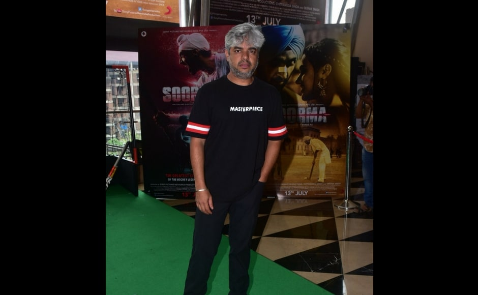 Director Shaad Ali at the much awaited trailer launch of the biopic.