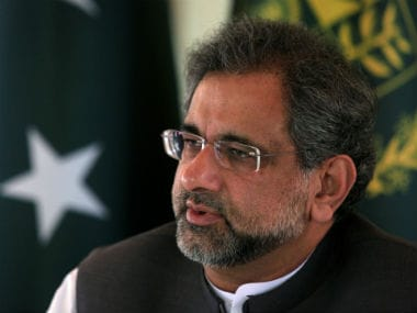 File picture of Shahid Khaqan Abbasi. Reuters