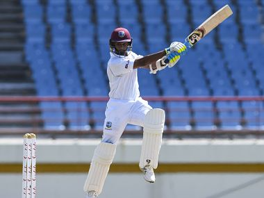 West Indies vs Sri Lanka: Shane Dowrich's unbeaten 60 steadies hosts after poor start in day/night Test