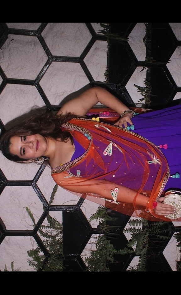 Veere Di Wedding actor Shikha Talsania at Shweta Tripathi and rapper Chaitanya Sharma's pre-wedding party in Mumbai
