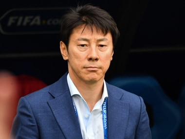 South Korea coach Shin Tae-yong has called for changes in South Korea's domestic league, blaming it for South Korea's losses against Sweden and Mexico. AFP