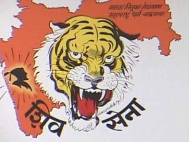 File Image of Shiv Sena. IBN live