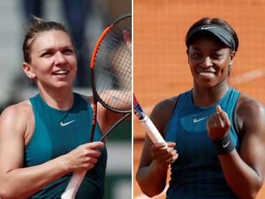 Simona Halep will face Sloane Stephens in the French Open final. Reuters