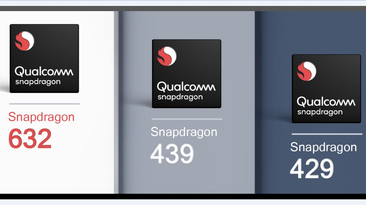 Qualcomm announces Snapdragon 632, 439 and 429 for mid and low-range phones