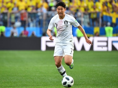 Son Heung-min struggled to make an impact against Sweden in a game with few clear cut opportunities for the South Korean side. AFP