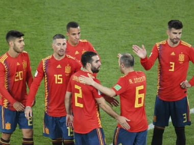 Spain haven't quite looked convincing so far in the World Cup with two draws and a 1-0 win over Iran. AFP