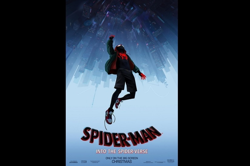 Spider-Man: Into the Spider-Verse poster. Image via Twitter