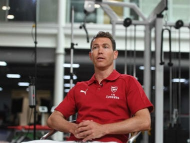 Stephan Lichtsteiner has become Arsenal's first signing since Unai Emery was appointed head coach. Twitter: @premierleague
