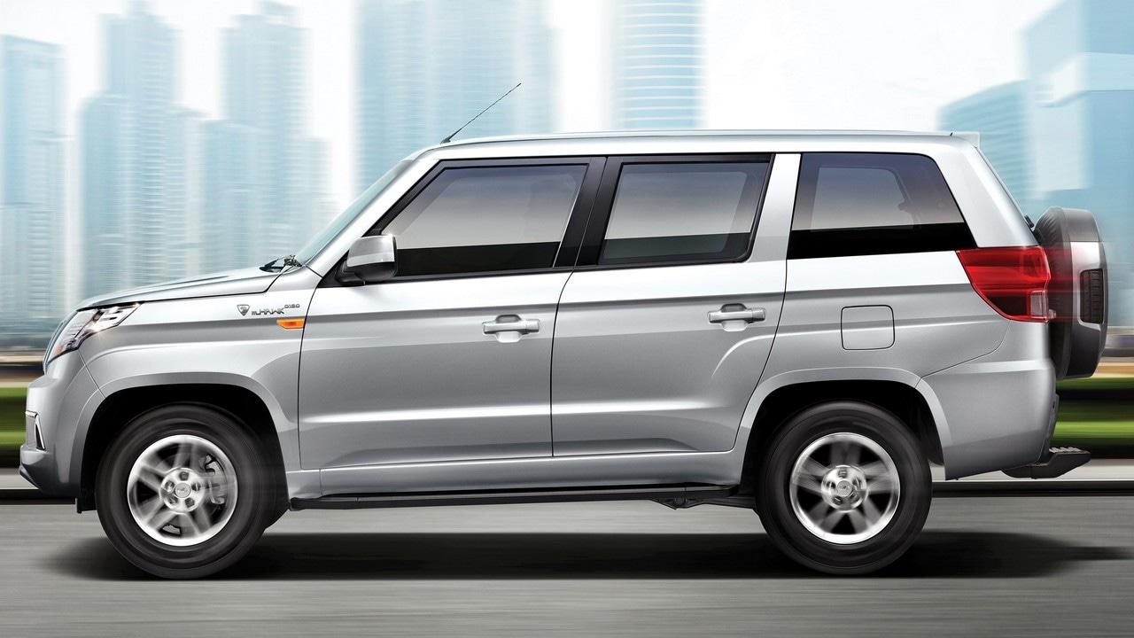 Mahindra TUV300 Plus SUV.