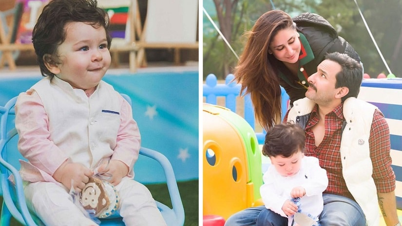 Taimur Ali Khan Pataudi, whose parents Kareena and Saif are not on social media, have over 6 lakh followers on different fan clubs on Instagram and numbers continue to grow. Image via Twitter