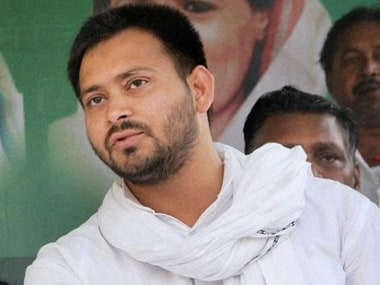 File image of RJD leader Tejashwi Yadav. News18