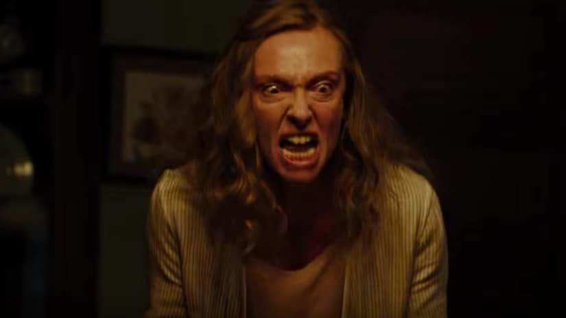 Toni Collette in Hereditary. Image via Twitter