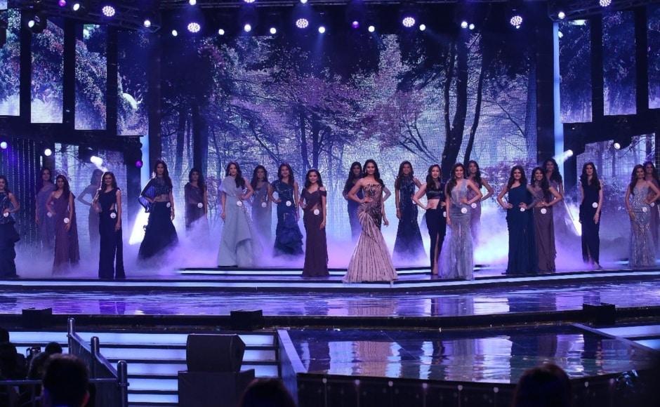 Top 12 of FBB Femina Miss India 2018. Twitter@feminamissindia
