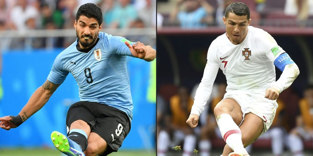 Cavani double carries Uruguay to World Cup quarter-finals