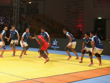 Highlights, Kabaddi Masters Dubai 2018, India vs Kenya, Match 10 at Dubai: India finish league stage with 50-15 win