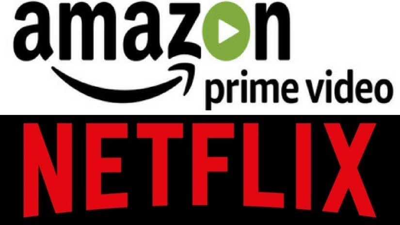 Streaming giants Netflix and Amazon Prime. Facebook