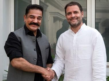 MNM chief Kamal Haasan meets Congress president Rahul Gandhi to discuss political climate in Tamil Nadu