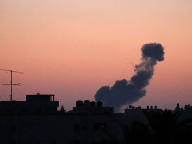 Air strikes carried out by Israel in Gaza. Reuters