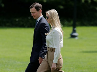 File image of Ivanka Trump and Jared Kushner. Reuters