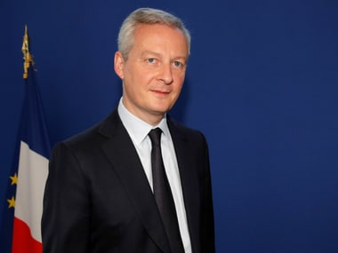 File image of French finance minister Bruno le Maire. Reuters