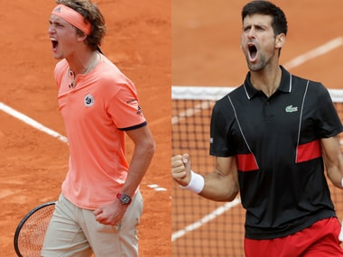 Alexander Zverev and Novak Djokovic have moved into the last-16 of the French Open. AP