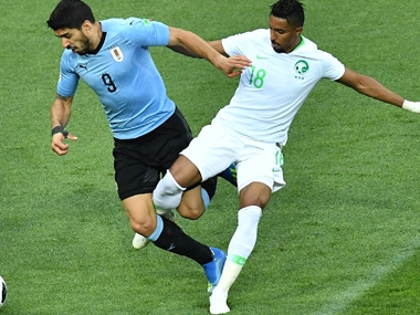 Uruguay won their first two matches by slender margins, winning 1-0 against Egypt and Saudi Arabia, two teams that are vastly outranked by the South Americans in terms of talent. AFP